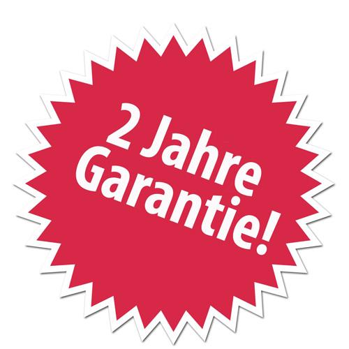 2 Jahr Garantie auf unseren Folienschweißgeräten SG(M)