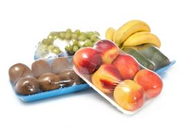 Obst verpacken mit ASW 450 Stretch Verpackungsmaschine