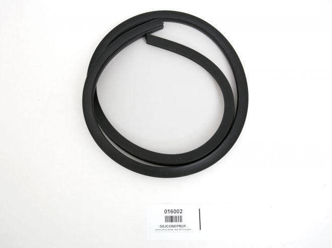 silikongummi-schwarz