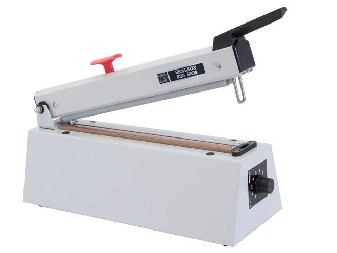 Sealboy Folienschweißgerät Mit Magnetverschluß 235 SBM