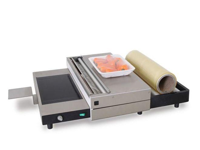 Stretchfolien Verpackungsmaschine für Lebensmittel verpacken - Sealershop.de