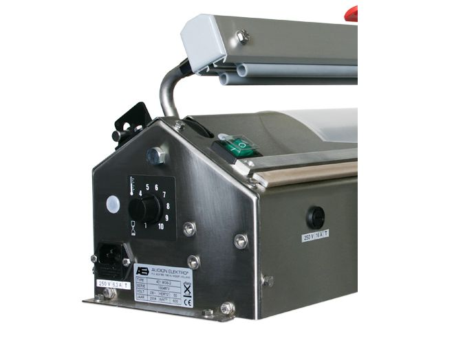 Magneta 421 Folienschweißgerät mit Motor, Rostfreierstahl (Elektr. Fußpedal)